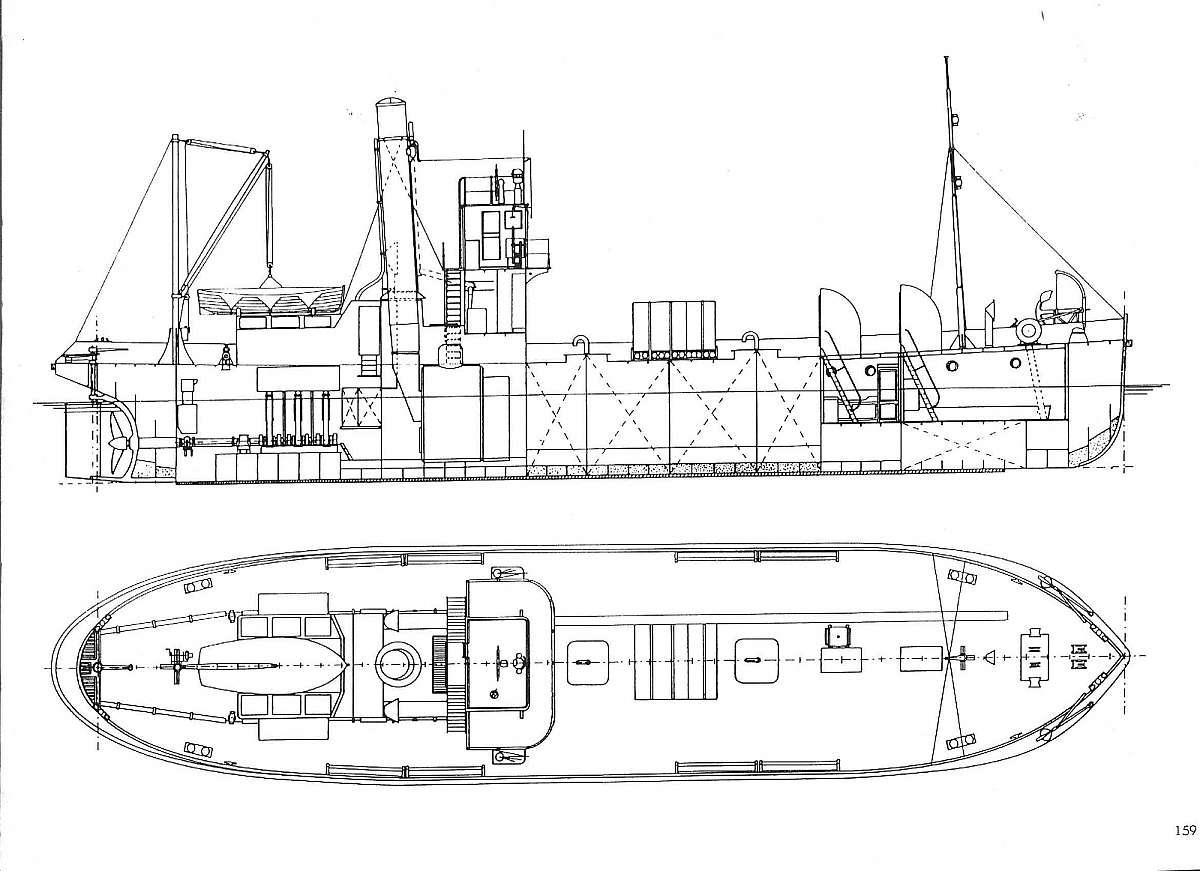 Steam Yacht Diagram