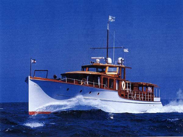 SHIPMODELL JESSICA Commuter Yacht
