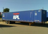53' container - seen commonly in USA and some Far Eastern countries and now in SOUTH AFRICA also