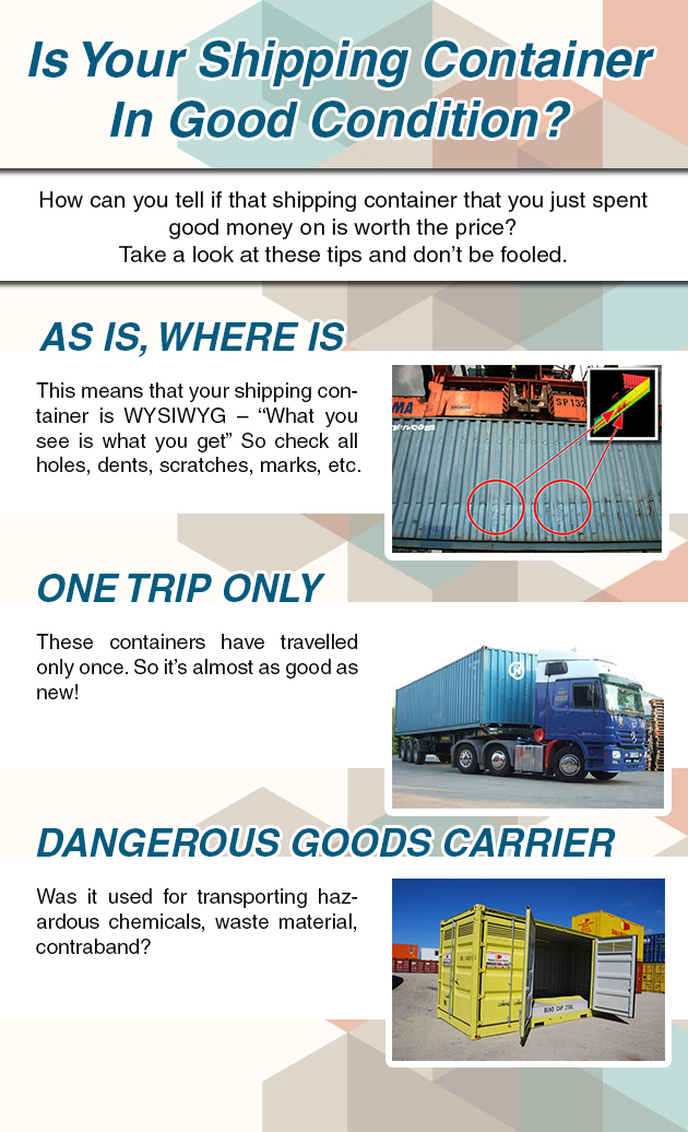 Is Your Shipping Container In Good Condition