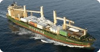 geared break bulk vessel - bulk and break bulk