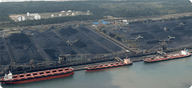 Richards Bay Coal Terminal - difference between bulk and break bulk