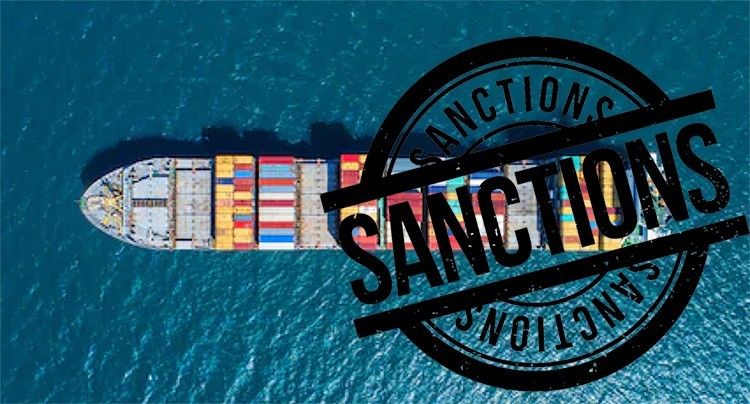 impact of sanctions on shipping