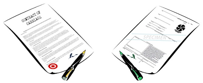 contract of carriage and bill of lading