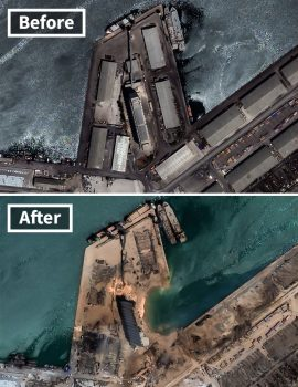 ammonium nitrate - oxidizer - shipping and freight resource - beirut explosion