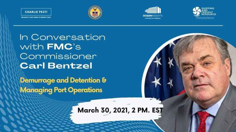 Conversation with FMC commissioner Carl Bentzel - Shipping and Freight Resource