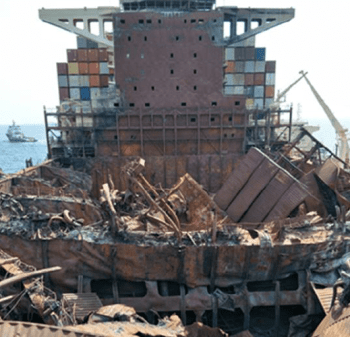 maersk honam TSIB report