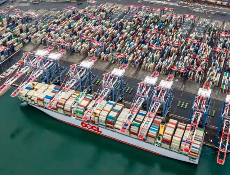 long beach los angeles san pedro bay congestion - shipping and freight resource