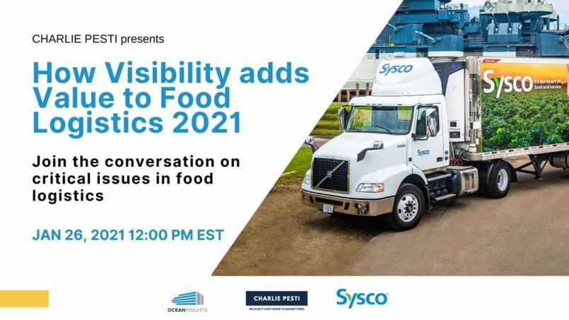 visibility in food logistics