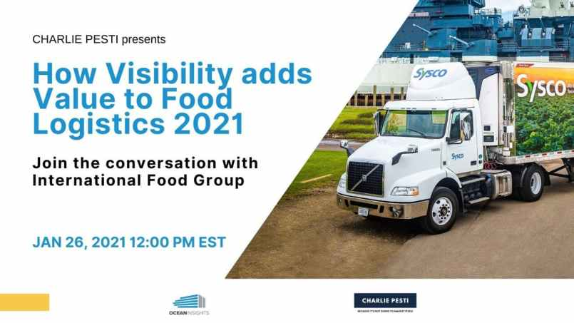 sysco webinar ocean insights shipping and freight resource