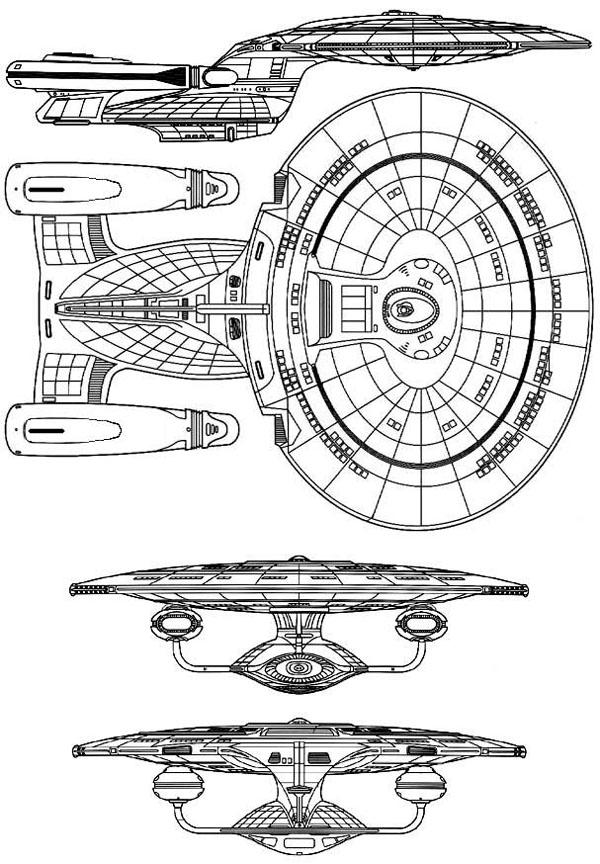 Star trek starship class galactic