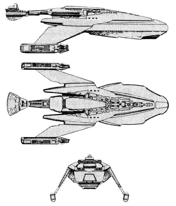 G 8 Trader S Game Class Iv Freighter Fasa Star Trek