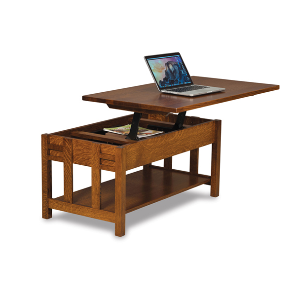 kascade open lift top coffee table