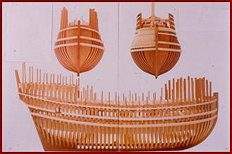 how to build wood model ship