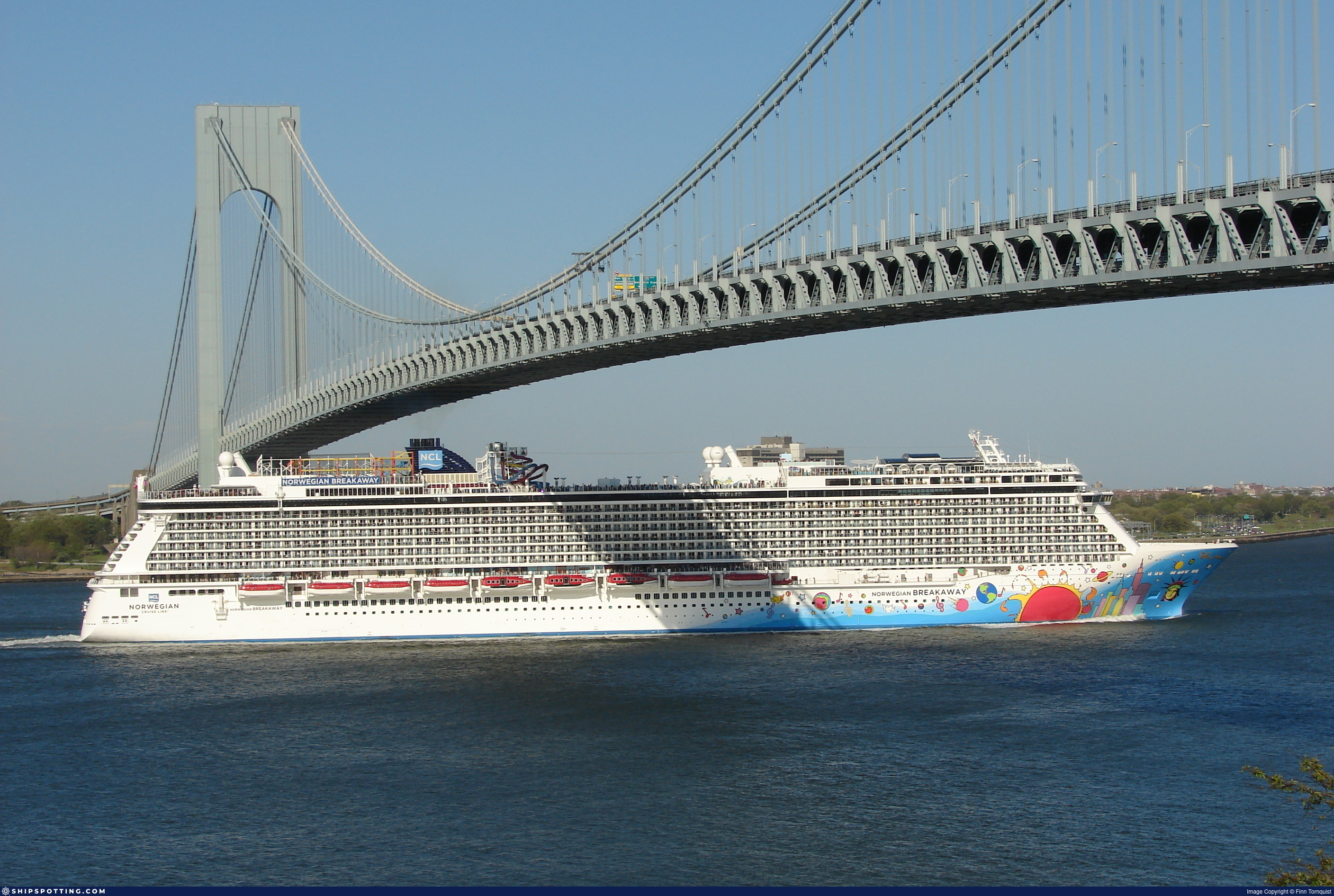 Norwegian Breakaway In Nyc Cruiseind