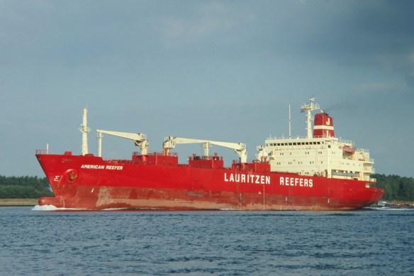 Afbeeldingsresultaat voor Lauritzen Reefers Americain Reefer