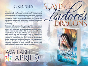 SlayingIsidoresDragons-  Book Tour- ReleaseDate Image