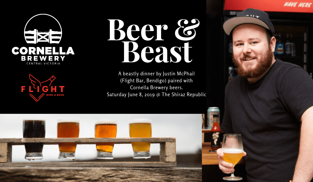 Heathcote-On-Show: Beer & Beast – Craft Beer Dinner
