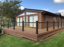 Photo of Holiday Lodge with new Composite Decking