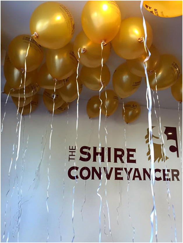 shire conveyancer baloons
