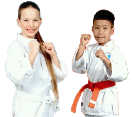 Young girl and boy