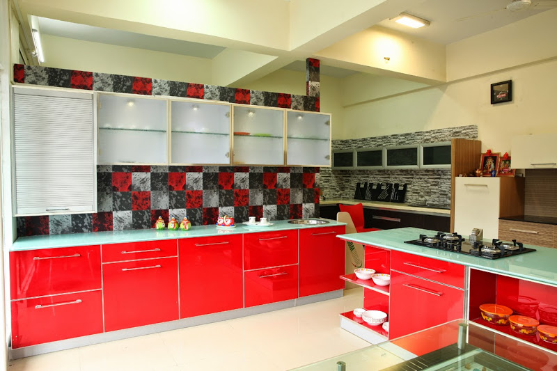 Shirkes Kitchen Introduces New Staright Kitchen Design In Pune