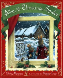 Allie, the Christmas Spider dust jacket