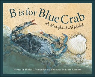 B is for Blue Crab dust jacket