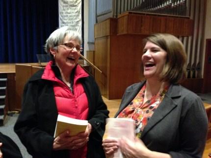 A good laugh with Rachel Held Evans