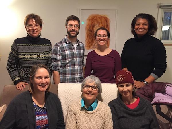 Standing: Hilda, Brendan, Jessica, Tonya. Seated: Sarah, Shirley, Anita