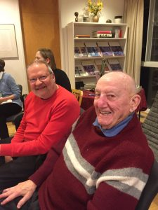 Brothers Aaron and Wilfred -- full participants in the life of the Institute.