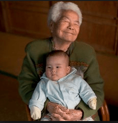 Like Leaping into Heaven: The Grandmother Effect