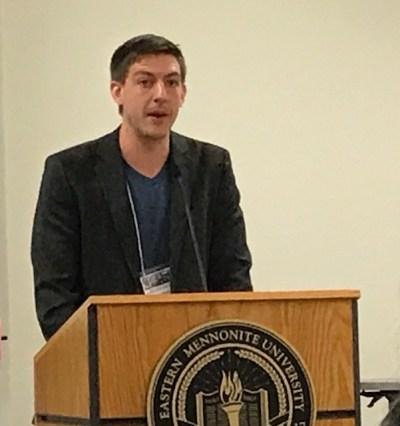 Ben Goossen speaking about Antje Brons