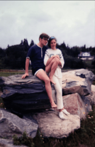 August 1969. Nova Scotia. Our honeymoon.