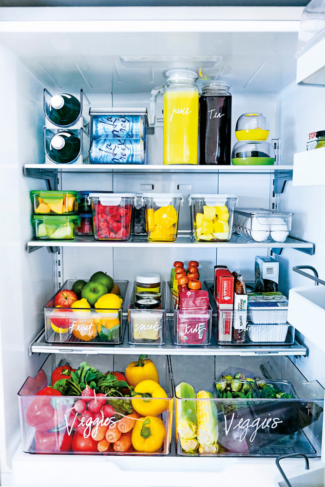 איך לסדר את המקרר בקלות ובמהירות