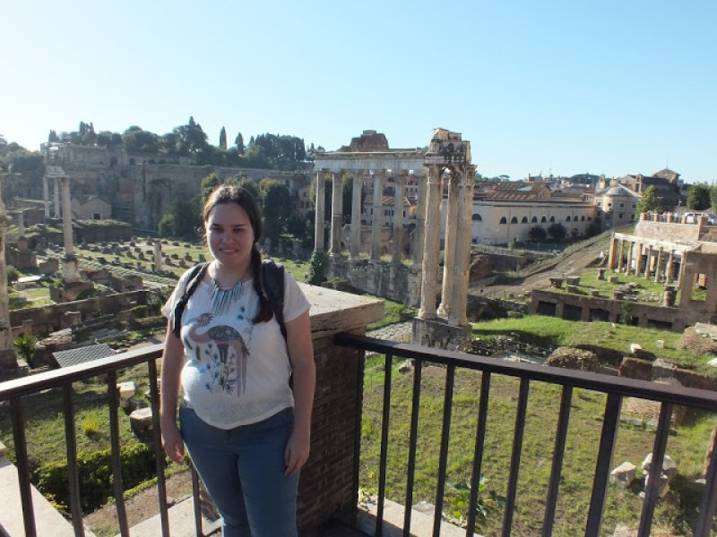 הפורום ברומא - החיים לפי שירלי