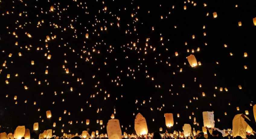 חג האורות תאילנד - החיים לפי שירלי