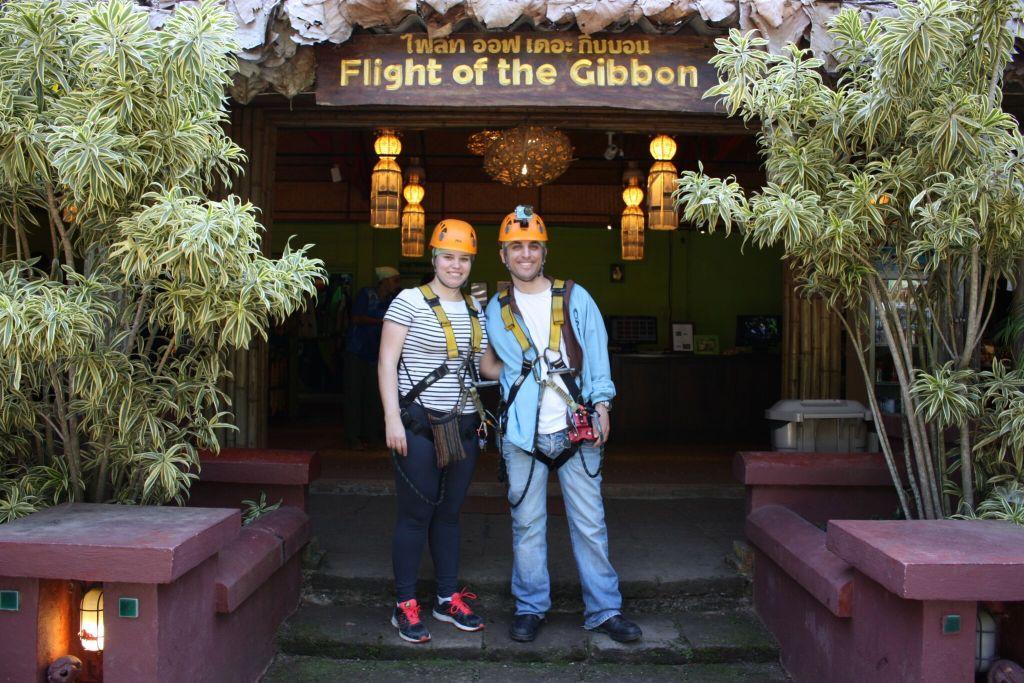 מעוף הגיבון - אומגות בתאילנד, אומגות בצ'אנג מאי