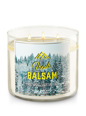 FRESH BALSAM - באת אנד בודי וורקס - נרות ריחניים