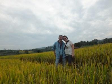 טיול באזורי החקלאות של תאילנד