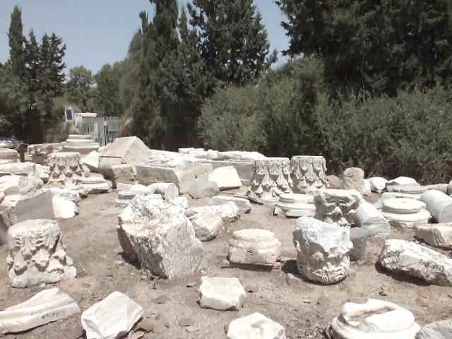 טיול באשקלון - שרידים מהתקופה הביזזנטית בגן הלאומי