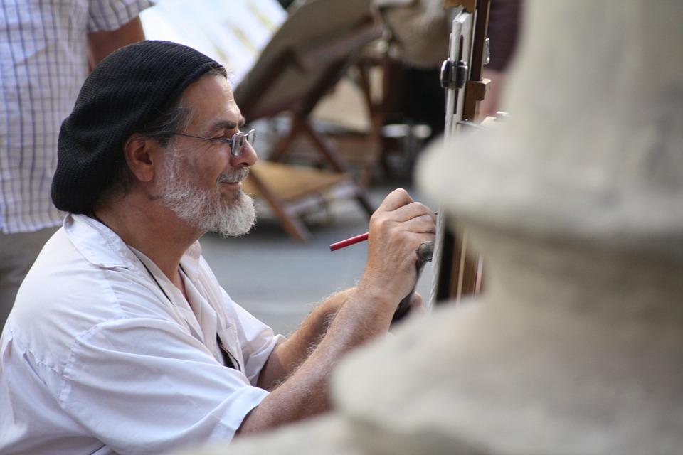 צייר בפירנצה