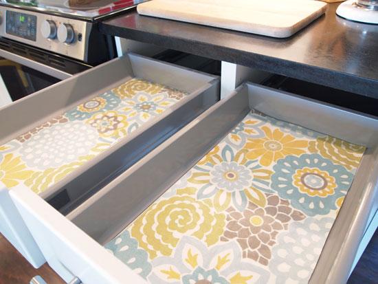 איך לסדר את המטבח - שימוש בטפטים