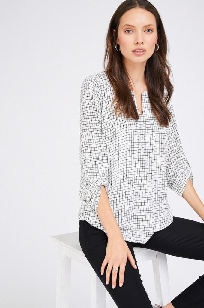 חולצת שכבות ריבועים - מה ללבוש בחג