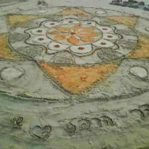 ציור מנדלות חוף