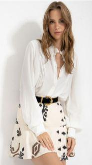 חולצת אריג מוריה - מה ללבוש לראש השנה