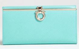 Buy Ferragamo Gancini Icona Saffiano Calfskin Wallet from Nordstrom