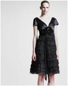 Marc Jacobs-BG 111th Anniversary Ruffled Cap-Sleeve Dress