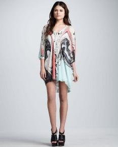 Diane von Furstenberg – Fleurette Printed Dress