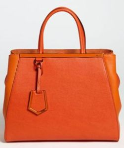 Buy Fendi 2Jours Elite Leather Shopper from Neiman Marcus